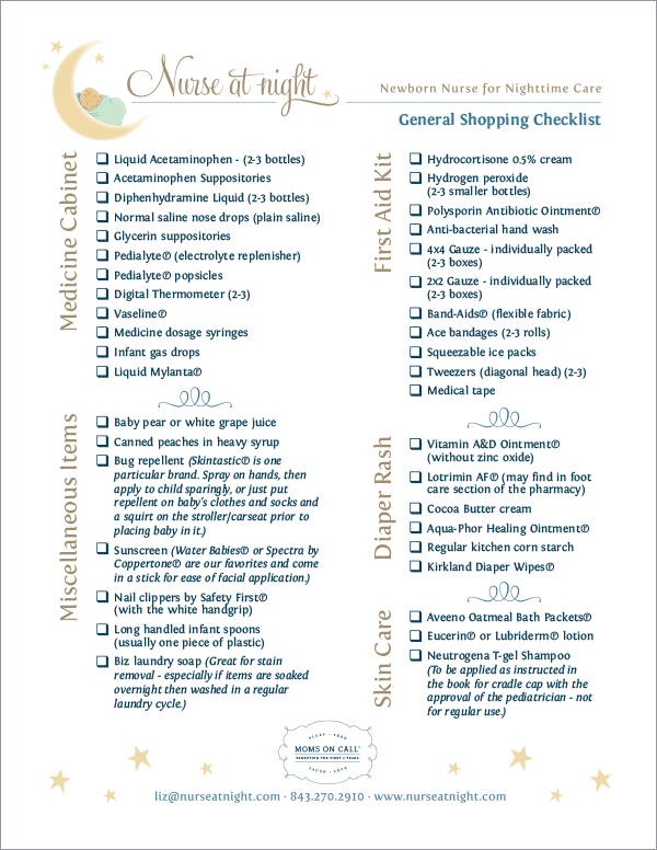 general_shopping_checklist